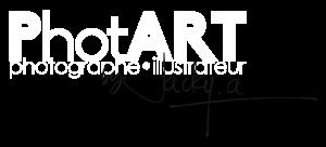 Logo PhotART blanc