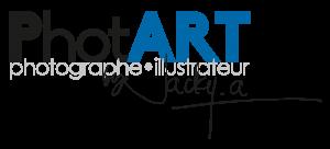 Logo PhotART bleue et noir